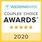 WeddingWire 2020 Couples Choice Award